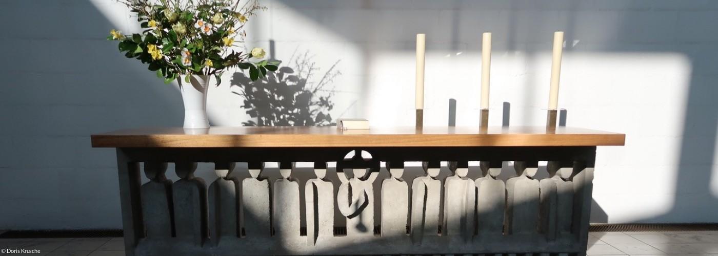 Altar Apostelkirche